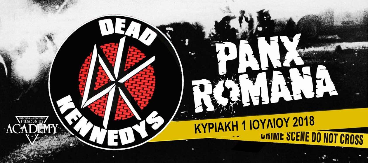 Dead Kennedys & Panx Romana 1/7 στο Academy