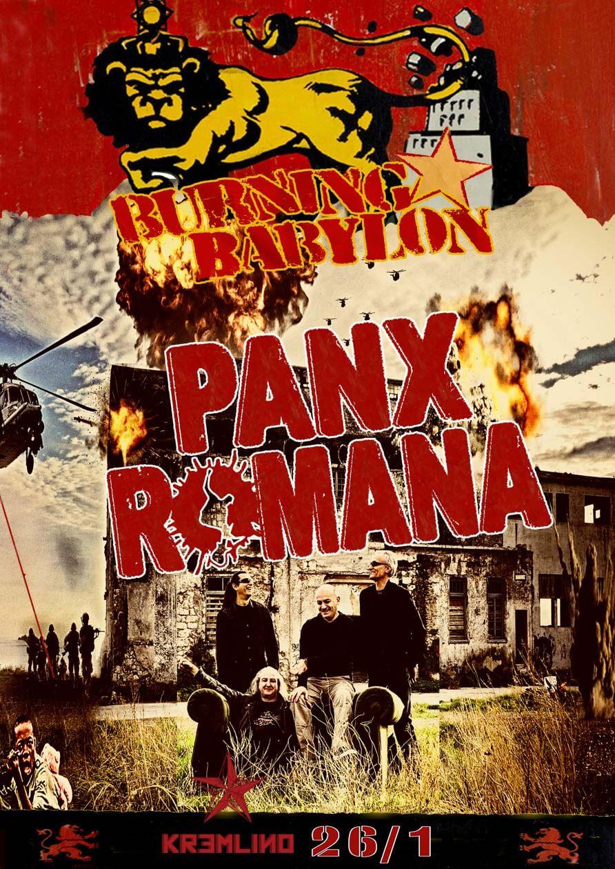Οι Panx Romana στο Κρεμλίνο του Πειραιά 26/1