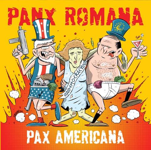 Panx Romana - Pax Americana Cover