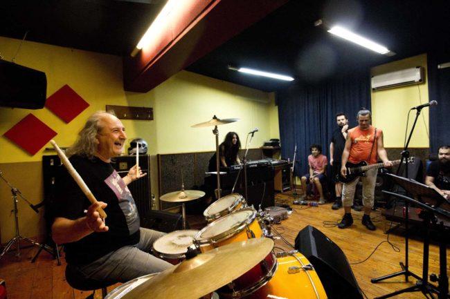 Στο στούντιο με τους Panx